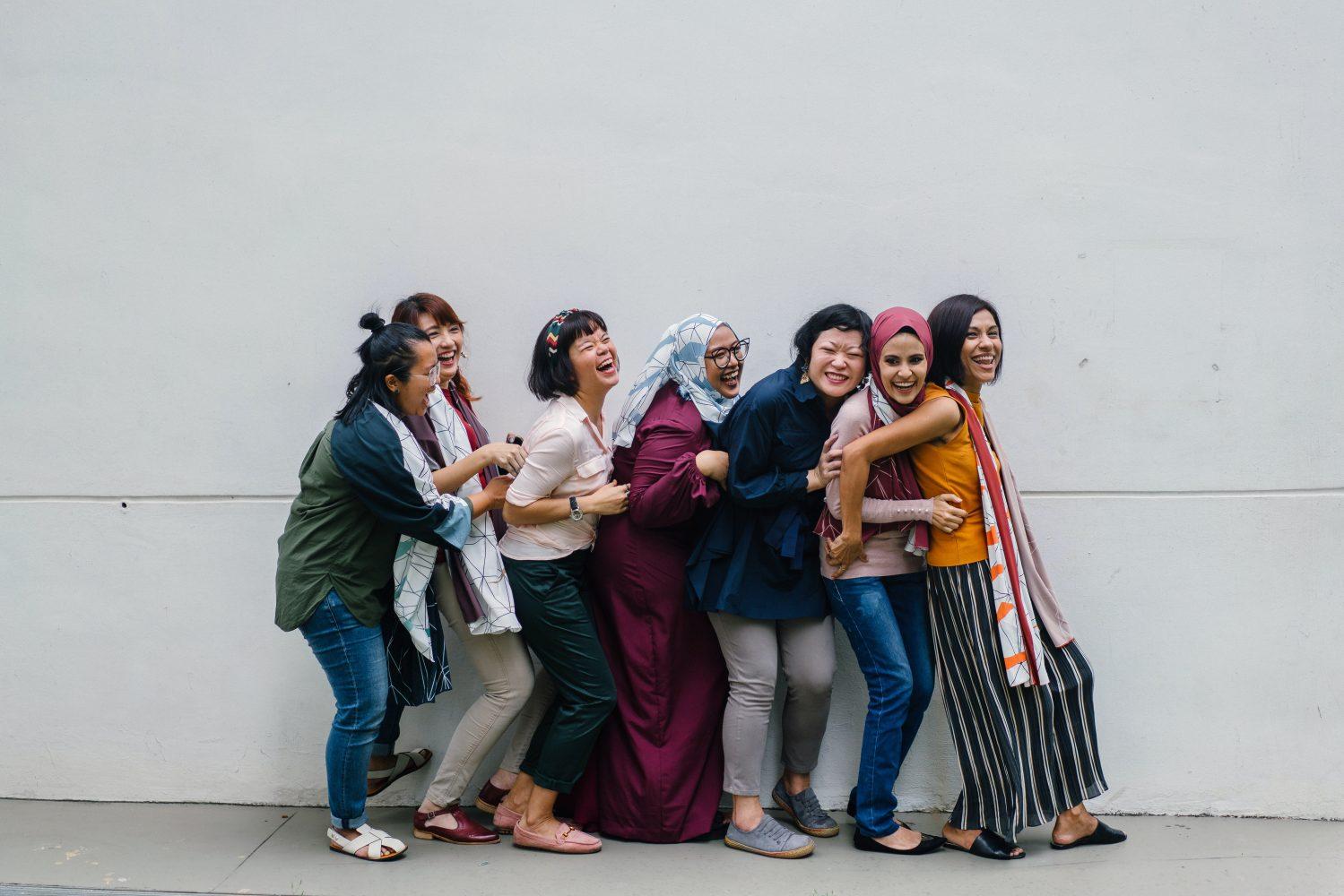 多様な女性(海外)